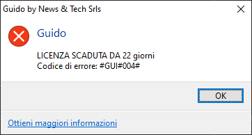 GUI004 ErrorCode Guido by News & Tech Srls